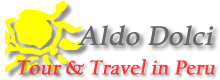 Aldo Dolci; Tour and Travel in Peru