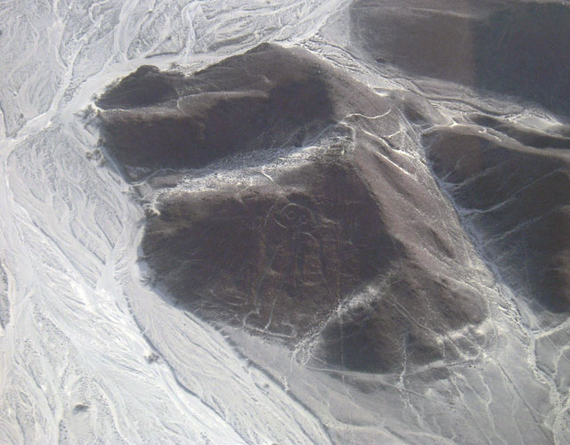 Nazca Lines, the Astronaut